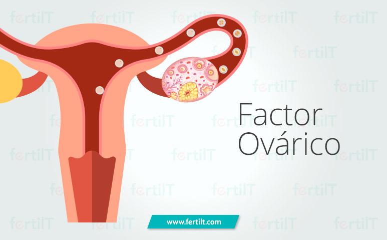 Representación de infertilidad por factor ovárico